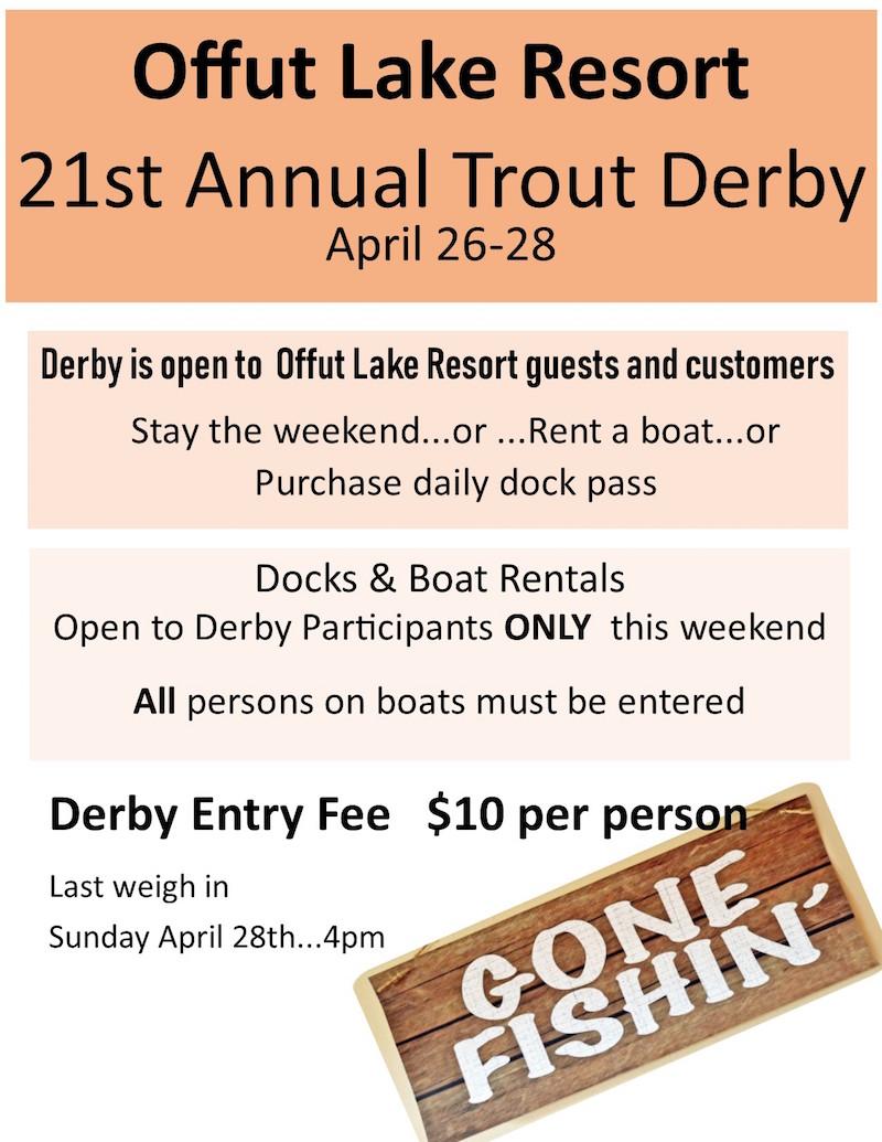 Derby 19 Offut Lake Resort